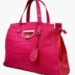 oriflame pink glamour fashion bag diagnol view