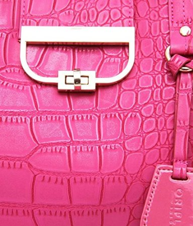 oriflame pink glamour fashion bag metal lock