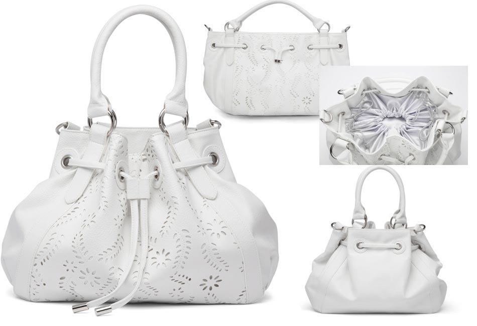 fcb18160a19c1 Oriflame Rose Of Dreams White Handbag - UrbanMadam